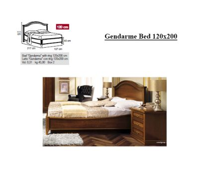 Gendarme Bed 120x200 085let.27no+ frame 000ret.230
