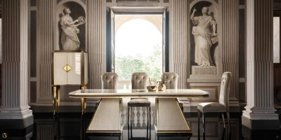 Brands Arredoclassic Dining Room, Italy Diamante Day