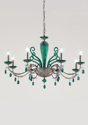 Brands Euroluce Macrame Collection Macramè L8 green