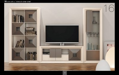 Brands Franco Serik Wall Unit Collection, Spain SERIK 16