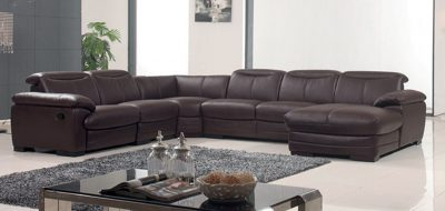 2146 Sectional with 1 Manual Recliner