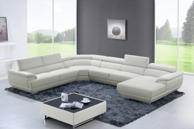 Brands GPS Modern Living Special Order 430 Sectional Off White