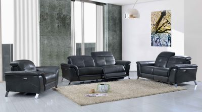 Living Room Furniture Sofas Loveseats and Chairs 2619 with Electric Recliners