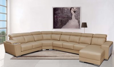 8312 Sectional with Sliding Seats