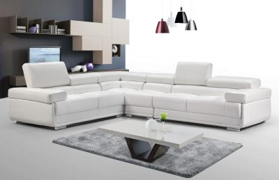 2119 Sectional White
