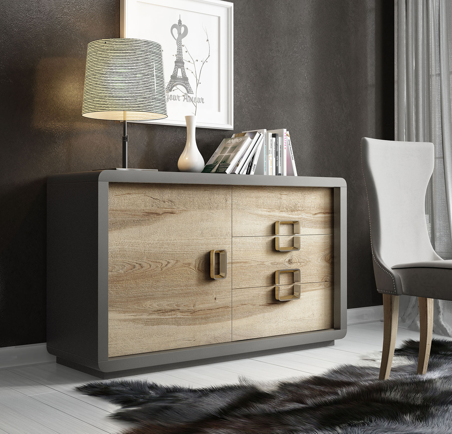 Brands Franco AZKARY II SIDEBOARDS, SPAIN AII.27 Sideboard
