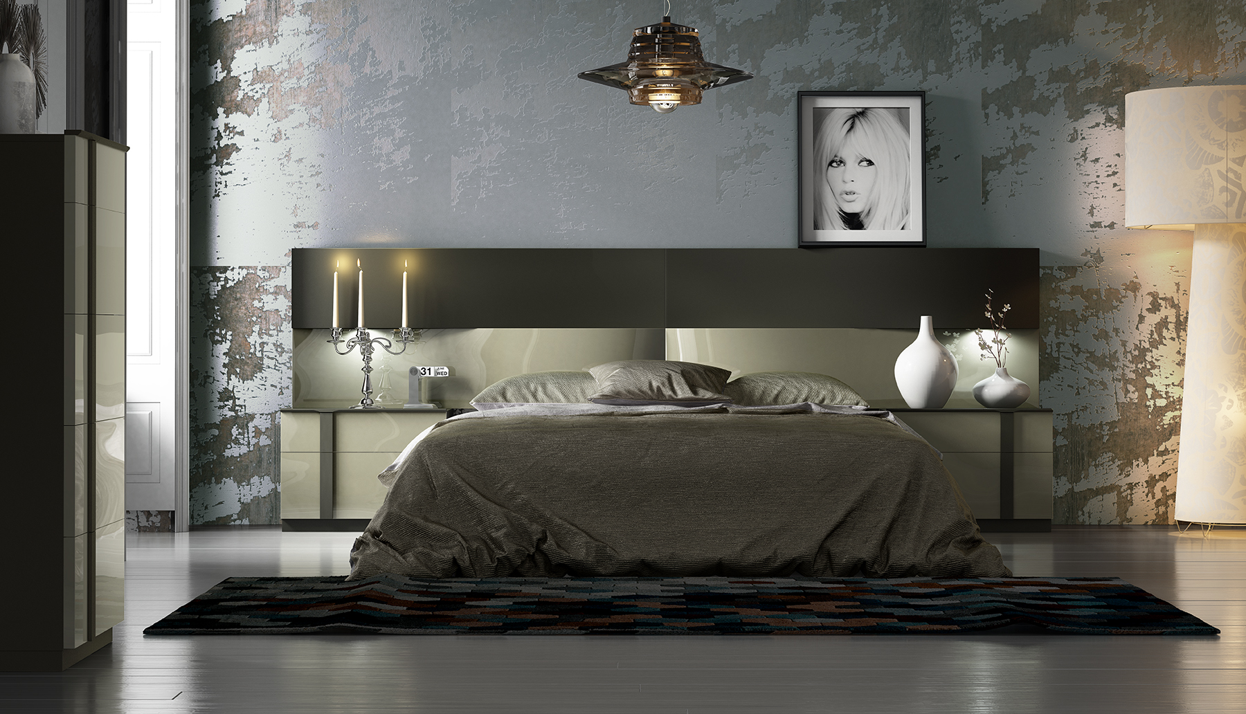Brands Fenicia Modern Bedroom Sets, Spain Fenicia Composition 18 / comp 601
