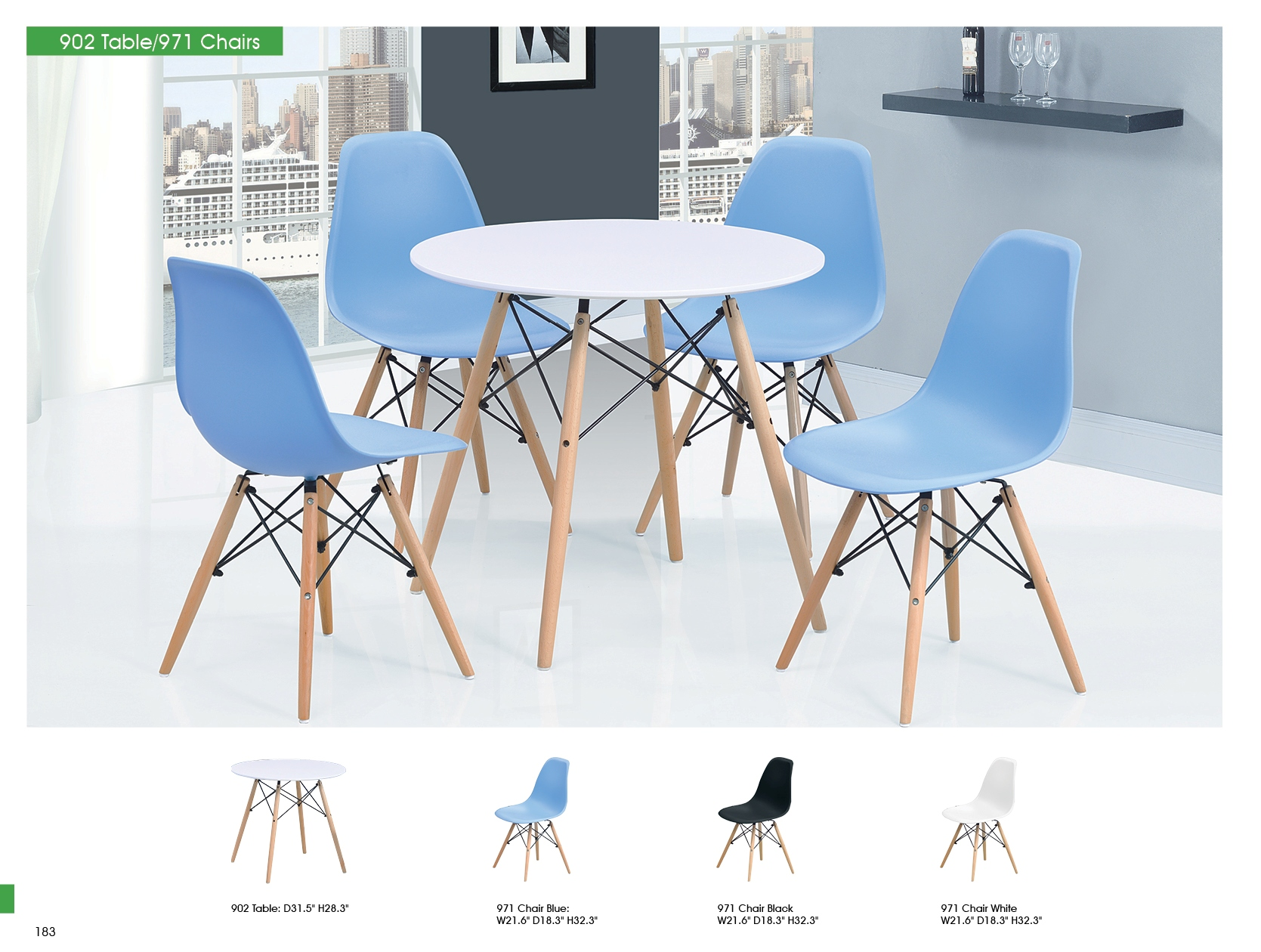 Dining Room Furniture Kitchen Tables and Chairs Sets 902 Table Only